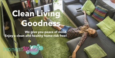 clean green living goodness image