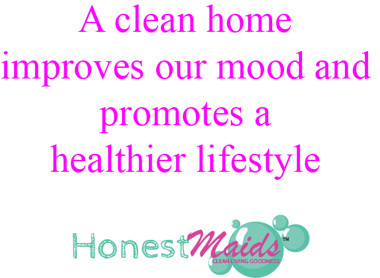 a clean home improves our mood and promotes a healthier lifestyle