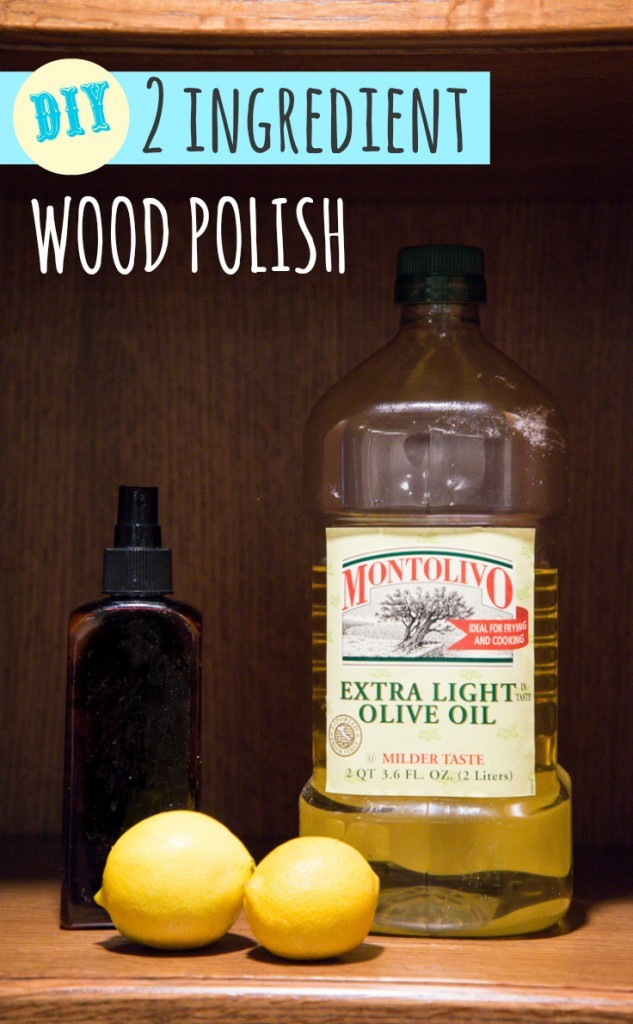 how to make polish naturally to clean your home naturally and green