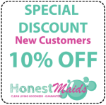 10% off special discount for new clients for our green natural home cleaning service