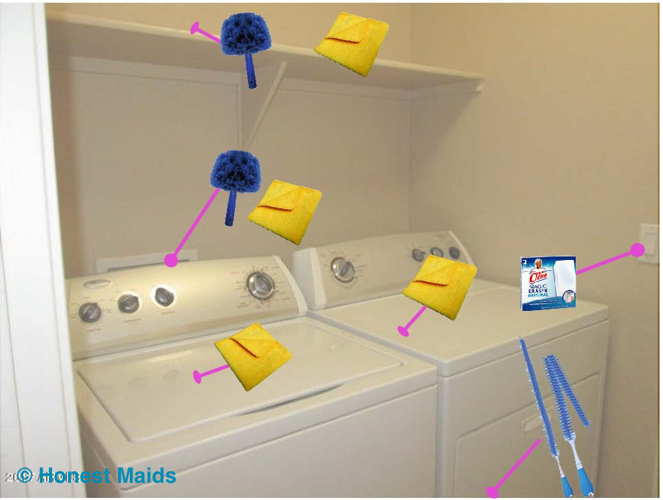 laundry room cleaning guide